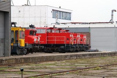 Waalhaven Zuid shunter depot on 29th September 2014