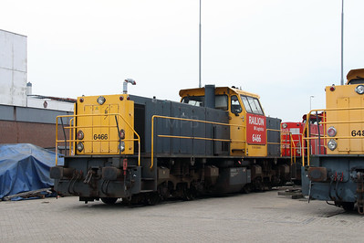 6466 (92 84 2006 466-1) at Waalhaven Zuid shunter depot on 29th September 2014 (3)