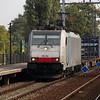 BLS, 186 104 (94 80 6186 104-6 D-Rpool) at Eindhoven Beukenlaan on 30th September 2014 (1)