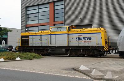 Shunter, 203 102 (92 84 2203 102-3 NL-SHTR) at Waalhaven Zuid shunter depot on 29th September 2014 (2)