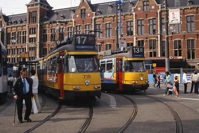 GVB 715_718 Centraal Amsterdam Jul 03