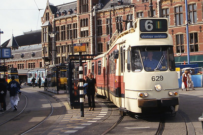 GVB 629 Centraal Amsterdam Jul 03