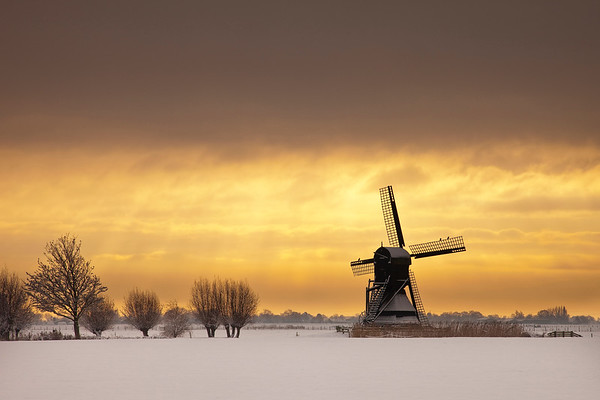 """Windmill """"Weel en Braken 1632"""" PB1814 - For sale  on werkaandemuur.nl / search for # 563370"""