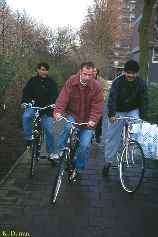 Sarfaraz Quettawala and Jamil Khan being over taken by the Dutch guys (Delft: Holland. 1995)