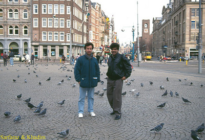 Sarfaraz Quettawala and Khadim Quettawaal (Amsterdam: Jan. 1995)