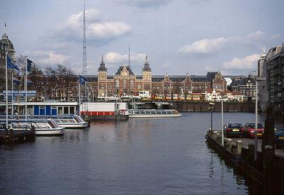 Amsterdam Railway Station.