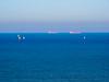 Ships & Boats on Blue Ocean