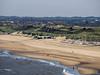 View of Beach from Scheveningen Pier with WW II Bunkers in Background