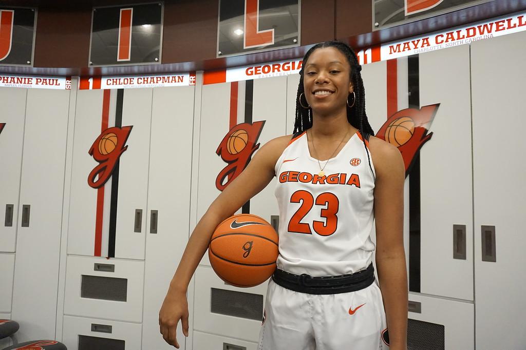 Reigan Richardson (Photo: Georgia Sports Communications)