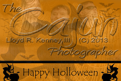 Happy Holloween from The Cajun.  Photography By: Lloyd R. Kenney III ©2013 All Rights Reserved Email: LloydKenneyiii@gmail.com