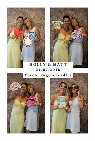 Holly & Matt, 21st July 2018