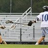 Holly Springs defeats Hoggard 8 to 7 in round one of the 2012 NCHSAA Boys Lacrosse Championship.