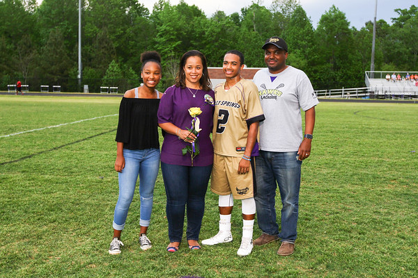Athens Drive at HSHS Senior Night 4-21-17