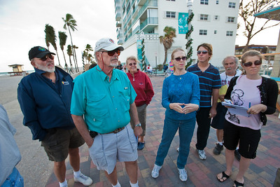 2009 Hollywood Beach Balloon Festival Balloon Pilots Meeting on the Beach