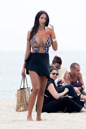 Nabila seen in Venice