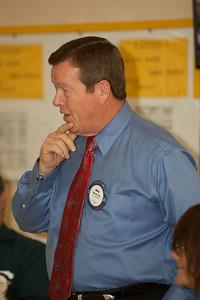David Erickson First Hollywood Rotary Luncheon as President