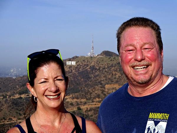 Hollywood Sign 12K Trail Run, Griffith Park CA February 11, 2018