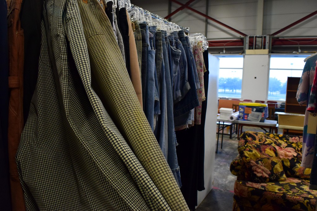 . Items for sale at the upcoming Michigan Motion Pictures Studios garage sale which takes place from 10 a.m. to 4 p.m. on Friday, July 14 and Saturday, July 15 at Gate 2 of the studio, located at 1999 Centerpoint Parkway in Pontiac.