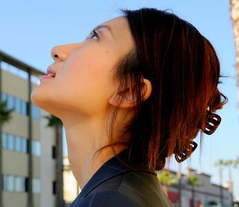 beautiful la woman model 1332..90...