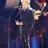 Bob Dylan performed a song as part of the tribute to Martin Scorcese.