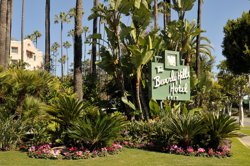 Beverly Hills Hotel in Hollywood, California