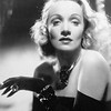 Marlene Dietrich!  Black gloves and blond wig provided at your shoot.