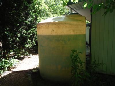 water level in rain tank