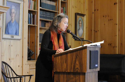 Video of Carolyn Forche reading ""