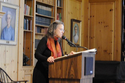 "Video of Carolyn Forche reading ""The Colonel""."