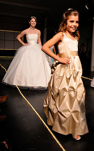 Student Fashion Show during Fashion Week in Frederick, Maryland.  2009