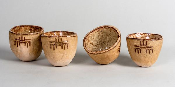 2_Butler_Four Pinch Pot Cups