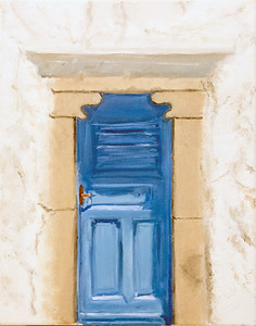 1 - Allie Witt-Mykonos Door