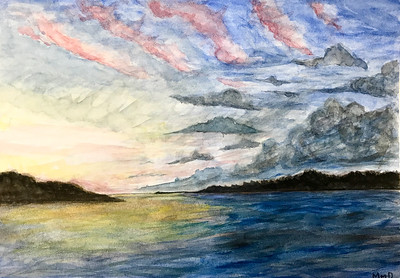 9 - Maggie Davis_quick sunset study_AS