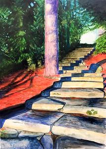14 - Maggie Davis_arrowhead stairs