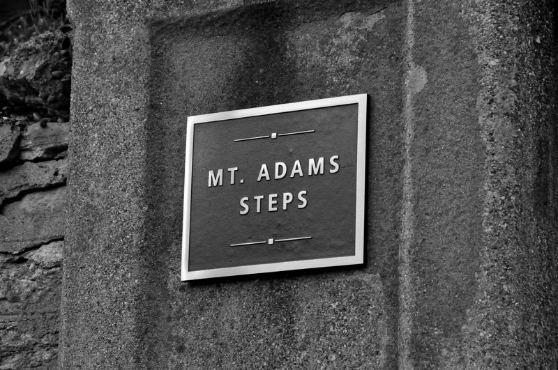 Mt. Adams Steps of the Holy Cross Immaculata Church.<br /> This is a Cincinnati Icon and treasure.