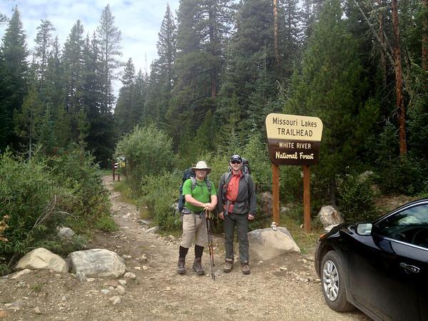 Requisite pre-hike trailhead shot