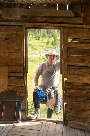 Holy Cross City abandoned miner's cabin