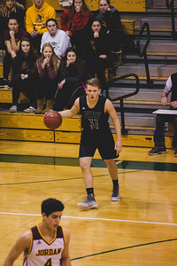 Holy Family Varsity Basketball vs. Jordan Jan 2018: