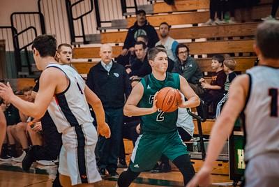 Holy Family Boys Varsity Basketball vs. Annandale Dec 20, 2018: Jacob Konz '19 (2)