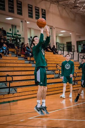 Holy Family Boys Varsity Basketball vs. Annandale Dec 20, 2018: Jack Enck '19 (10)