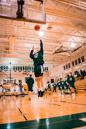 Holy Family Boys Varsity Basketball vs. Annandale Dec 20, 2018: Rory Johnson '20 (14)