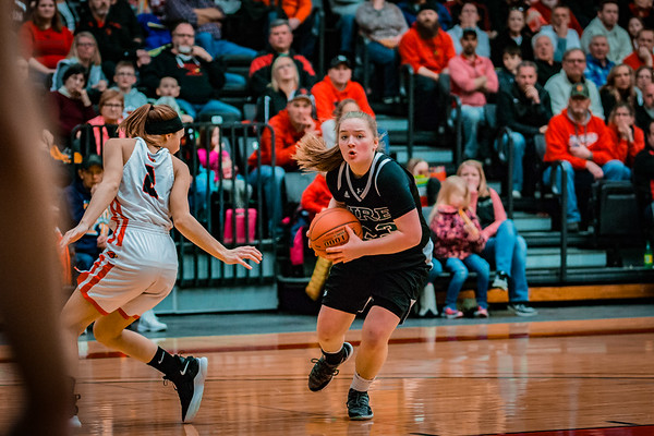 Holy Family Girls Basketball Section Final vs. Annandale Mar 8, 2019: Nicole Bowlin '22 (23)