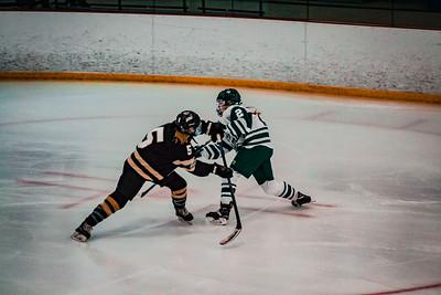 Holy Family Girls Varsity Hockey vs. Chaska/Chanhassen Nov 27, 2018: Kayla Woytcke '22 (28)