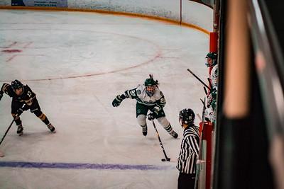 Holy Family Girls Varsity Hockey vs. Chaska/Chanhassen Nov 27, 2018: Olivia Paidosh '23 (22)