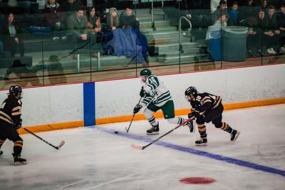 Holy Family Girls Varsity Hockey vs. Chaska/Chanhassen Nov 27, 2018: Captain Caitlin Rock '20 (12)