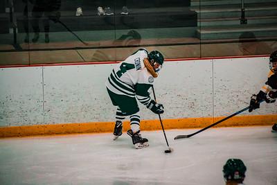 Holy Family Girls Varsity Hockey vs. Hutchinson Jan 4, 2019: Cecily Cronin '20 (4)