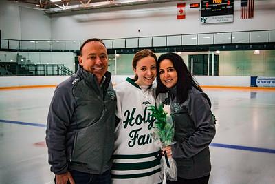 Holy Family Girls Varsity Hockey vs. New Prague Jan 22, 2019: Allison O'Brian '19