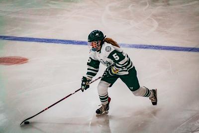 Holy Family Girls Varsity Hockey vs. Orono  Dec 18, 2018: Sadie Long '21 (5)