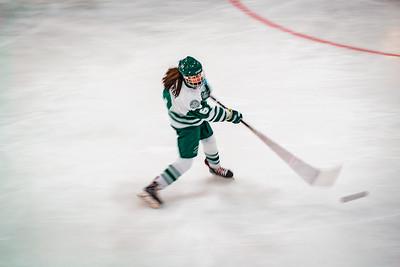Holy Family Girls Varsity Hockey vs. Orono  Dec 18, 2018: Brooke Batker '22 (6)