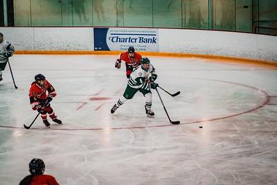 Holy Family Girls Varsity Hockey vs. Orono  Dec 18, 2018: Maeve Kelly '22 (8)